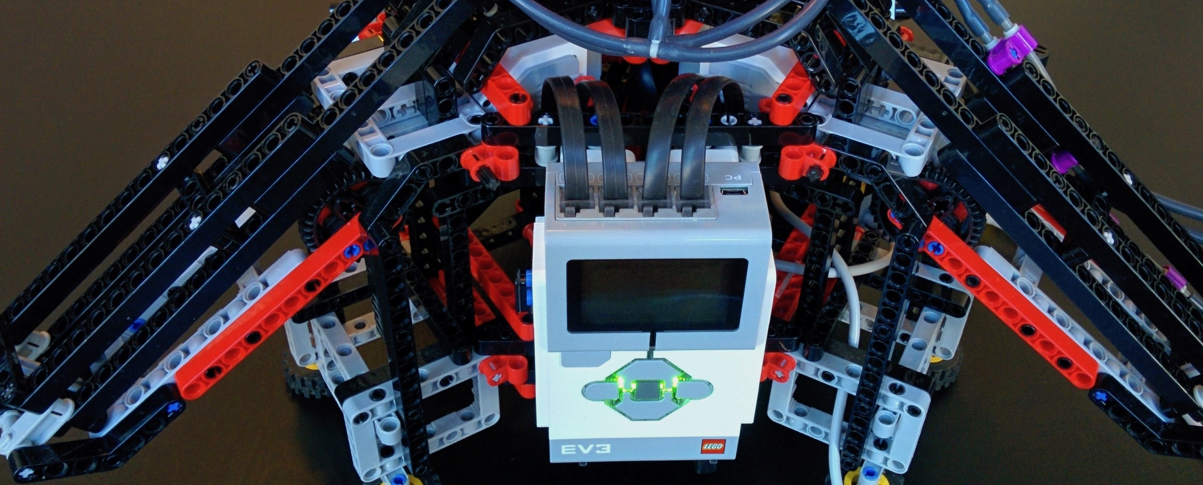 LEGO Mindstorms delta robot catching a ball using stereo vision